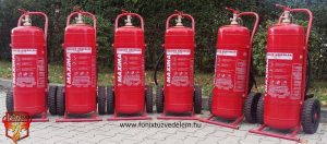A tűzoltó készülék bizonságérzetet ad